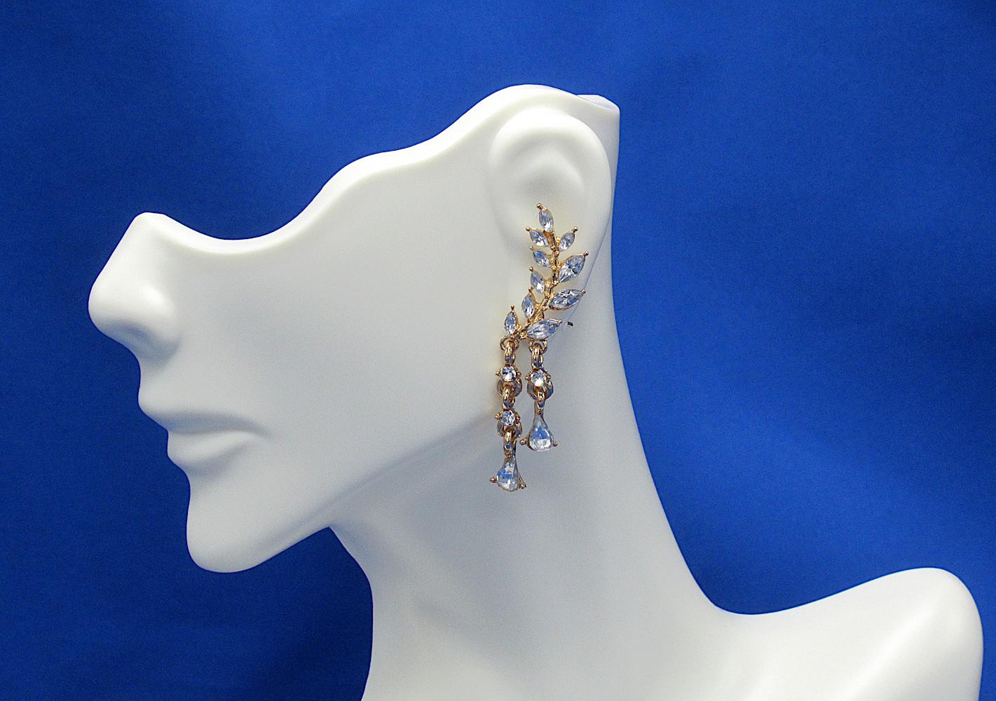 PA-109_Angel-Wings-Crystal-Pierced-Stud-Earrings_gold_blue-bkgrnd2.jpg