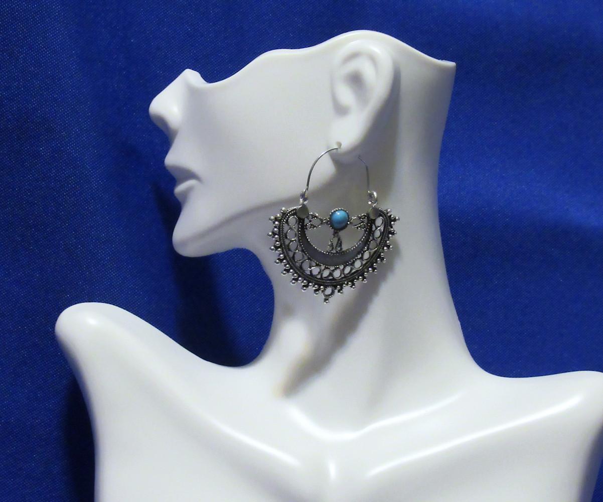 PA-122-Turquoise-and-Metal-Semicircle-Hoop-Earrings1.jpg