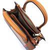 Plaid check handbag top