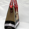 Red and Plaid Check Padlock 2-in-1 Bag-side2