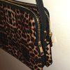 Matthew + Julian Leopard Print Crossbody Bag side view