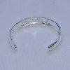 Open Filigree 925 Silver Bracelet