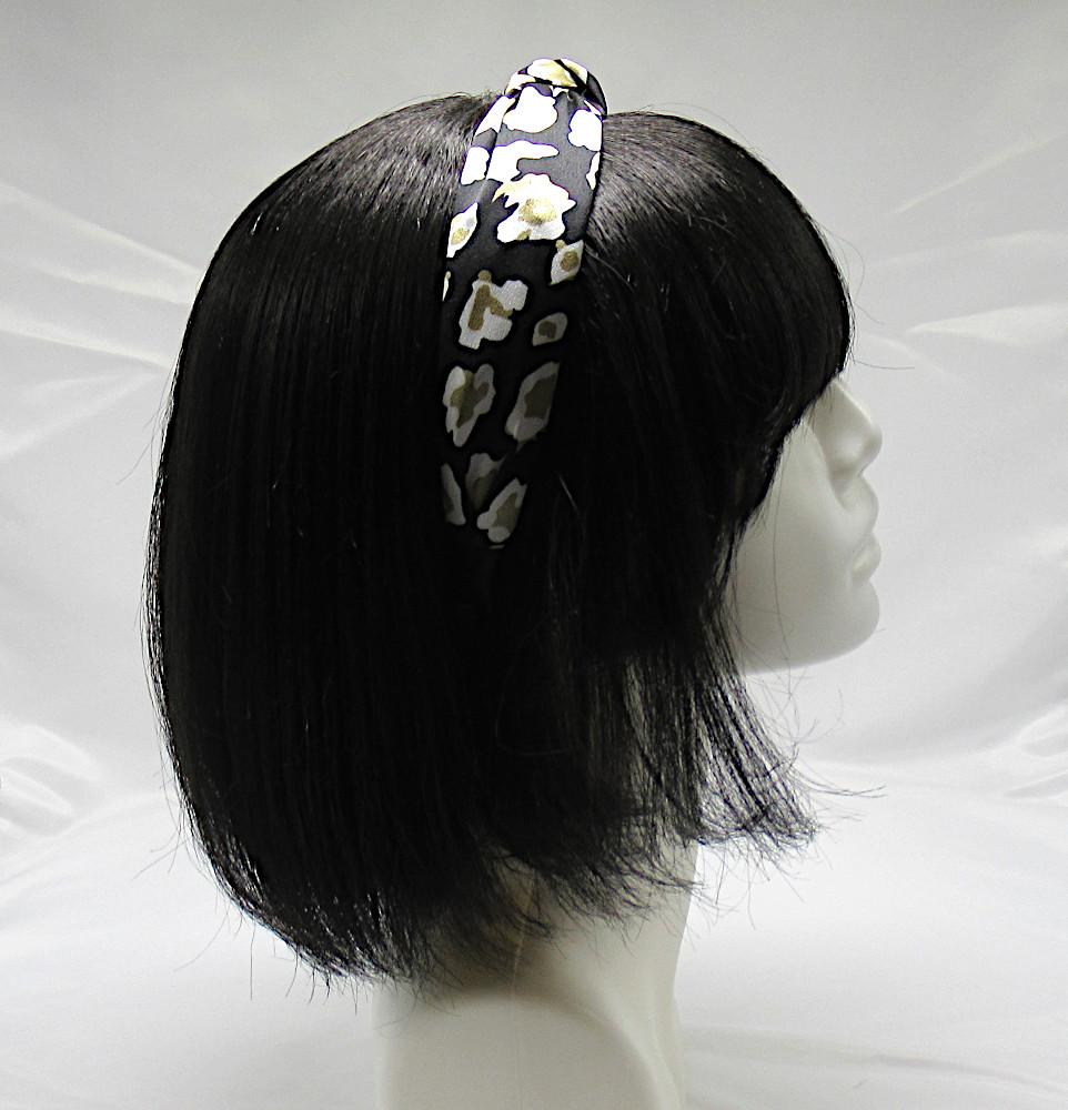 RJ-HB01_Leopard Print Knotted Headband-Black4