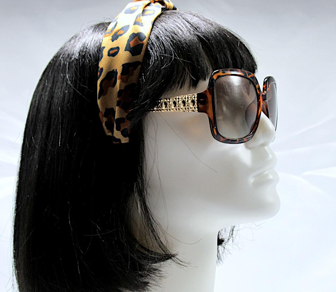 RJ-HB03_Leopard Print Knotted Headband-Brown2