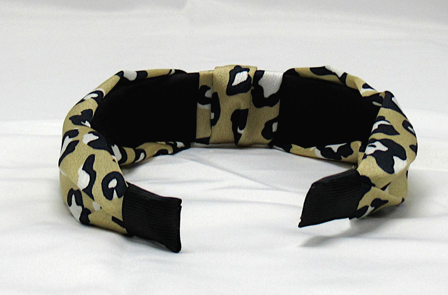 RJ-HB04_Leopard Print Knotted Headband-Khaki6