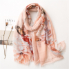 Soft and Beautiful Butterfly Floral Scarves