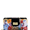 Flower and Leopard Evening Bag Clutch Purse_front