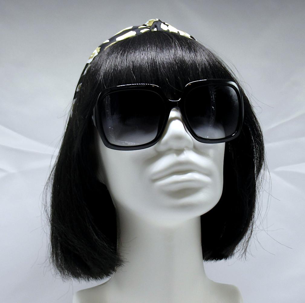 Polarized Sunglasses 100% UV Protection - Solid Black