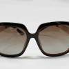 Polarized Sunglasses 100% UV Protection - dark brown and gold